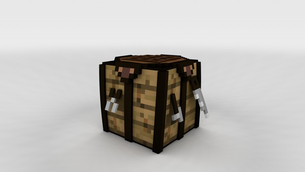 Advanced Crafting Table Rig