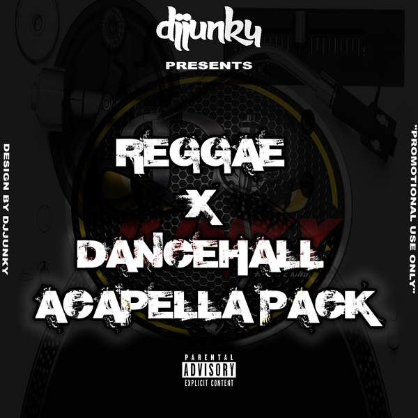 DJJUNKY PRESENTS - REGGAE X DANCEHALL ACAPELLA PACK