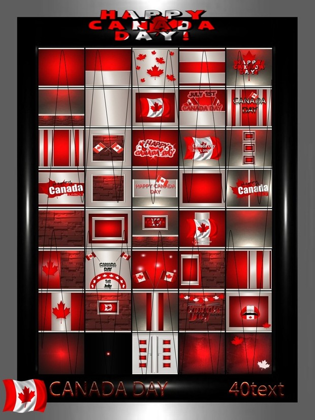 CANADA DAY 40 text