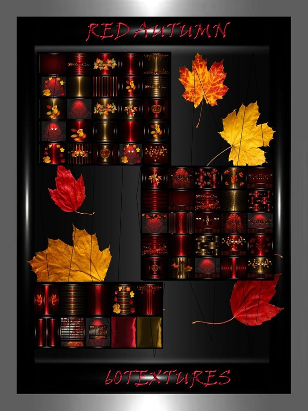 RED AUTUMN 60 text
