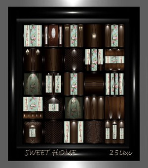 SWEET HOME 25text