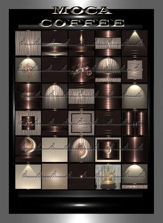 MOCA COFFEE 30 textures
