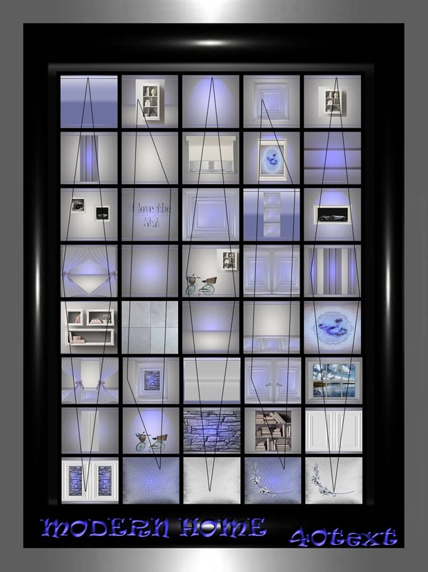 MODERN HOME 40 text
