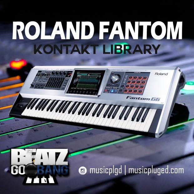 Free Roland Fantom Kontakt Library - Beatz Go Bang