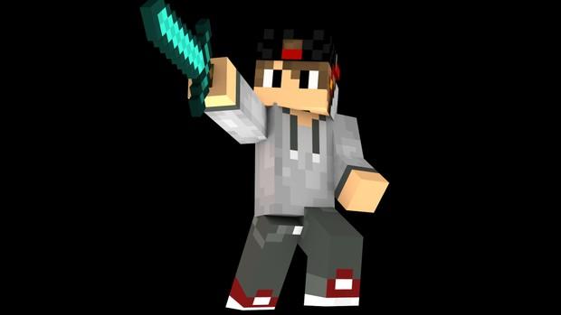 Custom Cinema 4D Minecraft Character