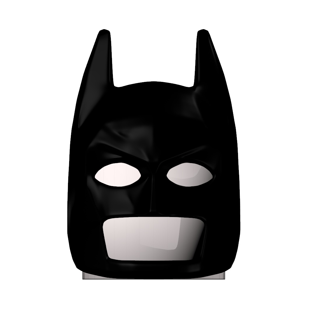 Lego Batman Helmet Foam Template Smoke Mid Store