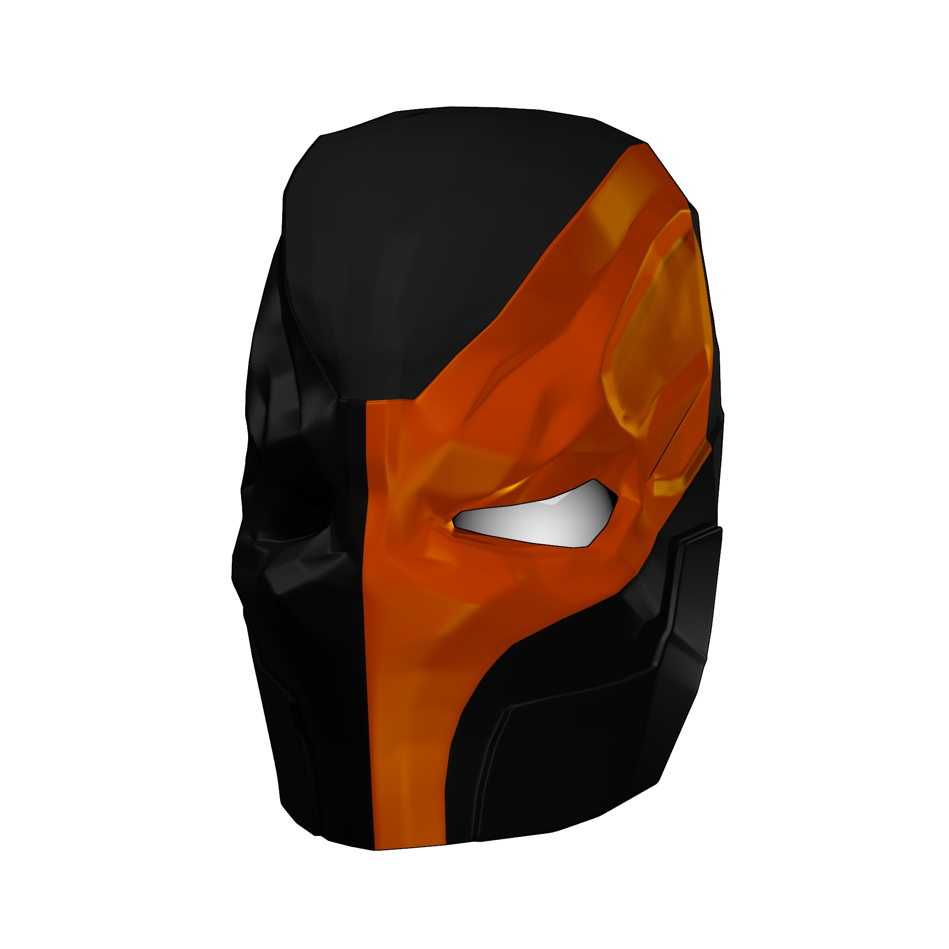 Batmans Deathstroke Mask Foam Template