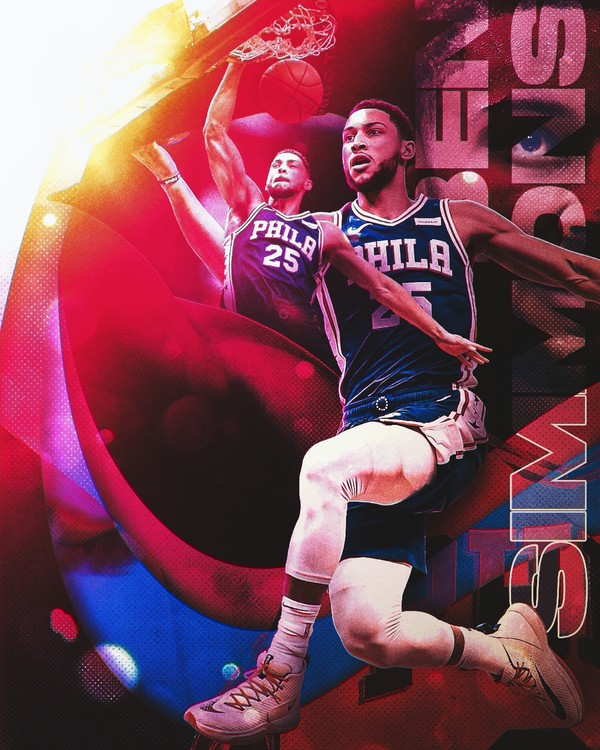 Ben Simmons Colors PSD
