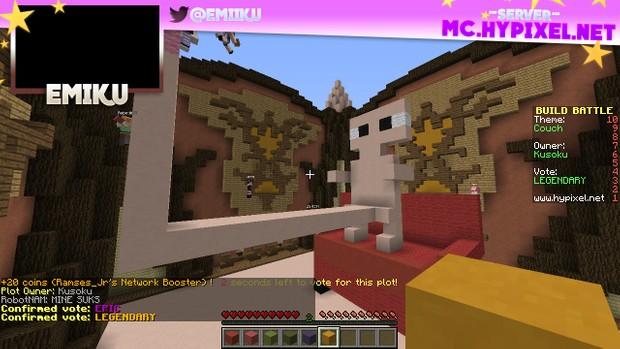 Minecraft - Twitch Stream Overlay