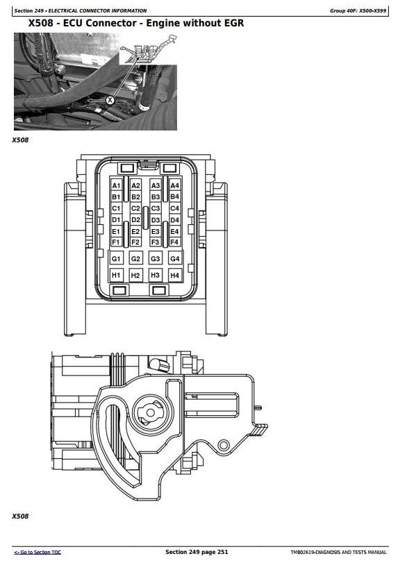 on jd 2035 wiring diagrams
