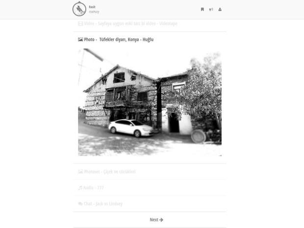 Rasit - Clean Tumblr Theme