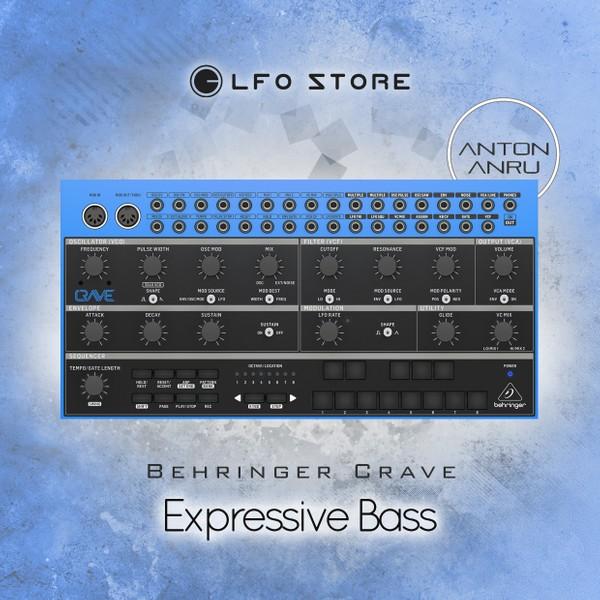 Behringer Crave - Expressive Bass (10 presets by Anton Anru)