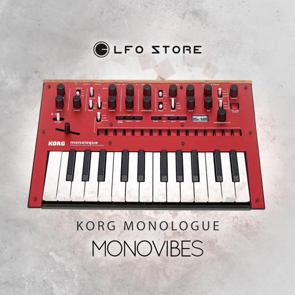 "Korg Monologue - ""MonoVibes"" - 100 Massive Presets"