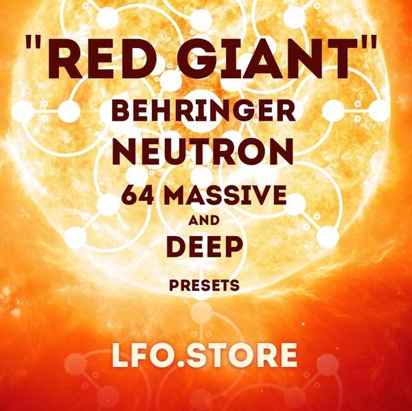 Behringer Neutron - 64 Massive Presets
