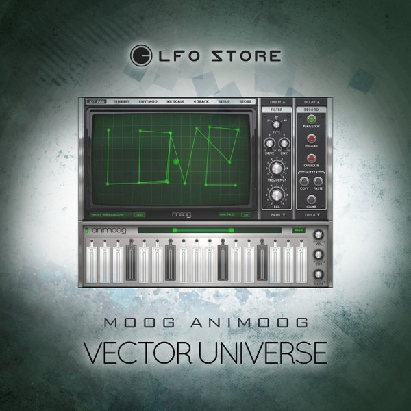 Animoog Vector Universe Soundset