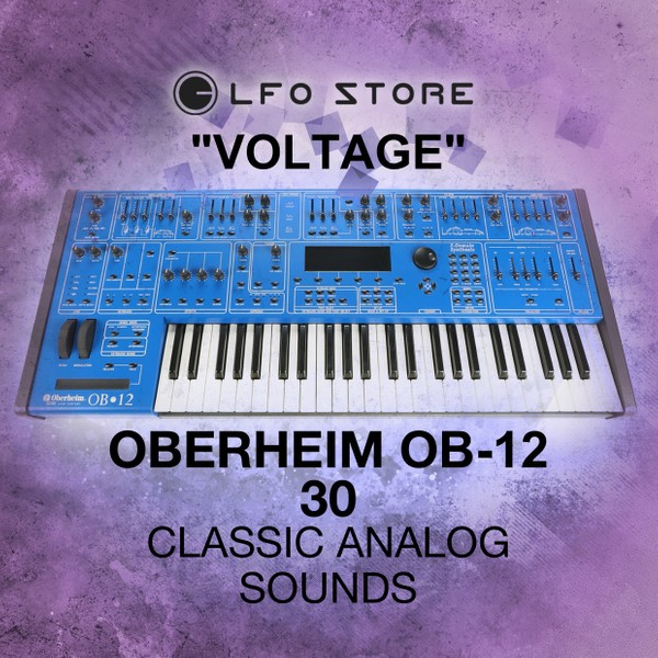 "Oberheim OB-12 ""Voltage"" Classic Analog Sounds"
