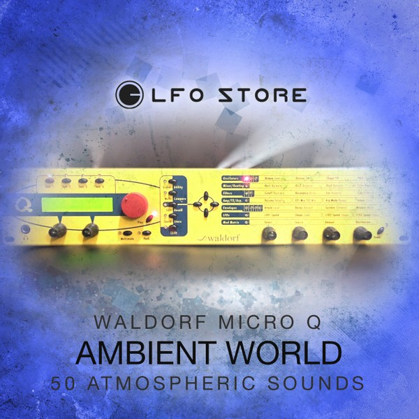 "Waldorf Micro Q - ""Ambient World"" 50 Atmospheric Presets"