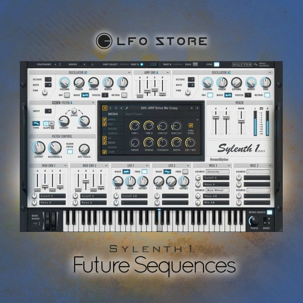 "Sylenth1 - ""Future Sequences"" 46 presets"
