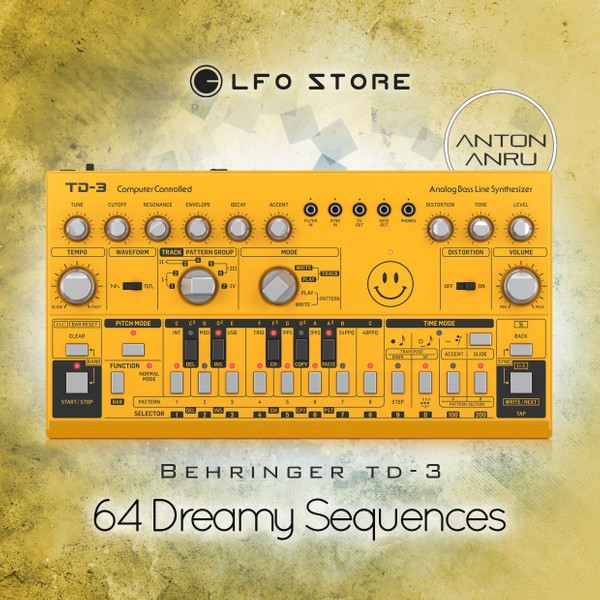 Behringer TD-3 - 64 Dreamy Sequences (by Anton Anru)