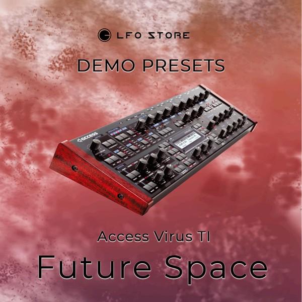 "Access Virus Tl - ""Future Space"" soundbank Demo"