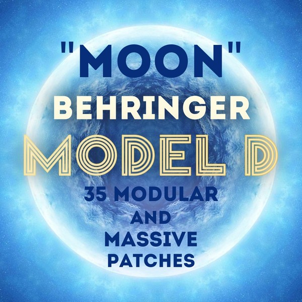 "Behringer Model D ""Moon"" - 35 Modular Patches"