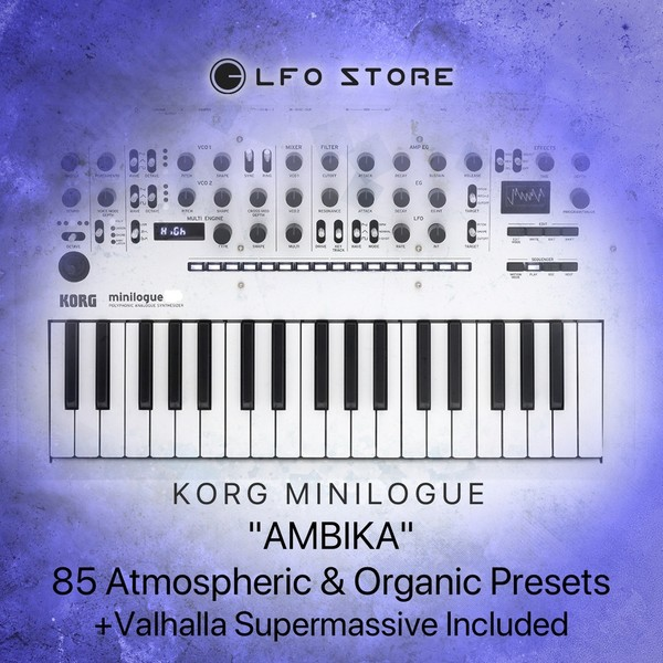 "Korg Minilogue - ""AMBIKA"" 85 Atmospheric & Lush Presets"