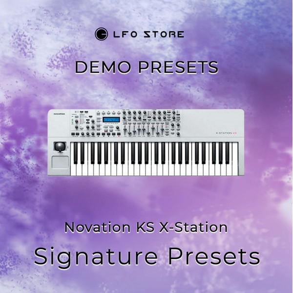 "Novation KS X-Station – ""Signature"" Demo"