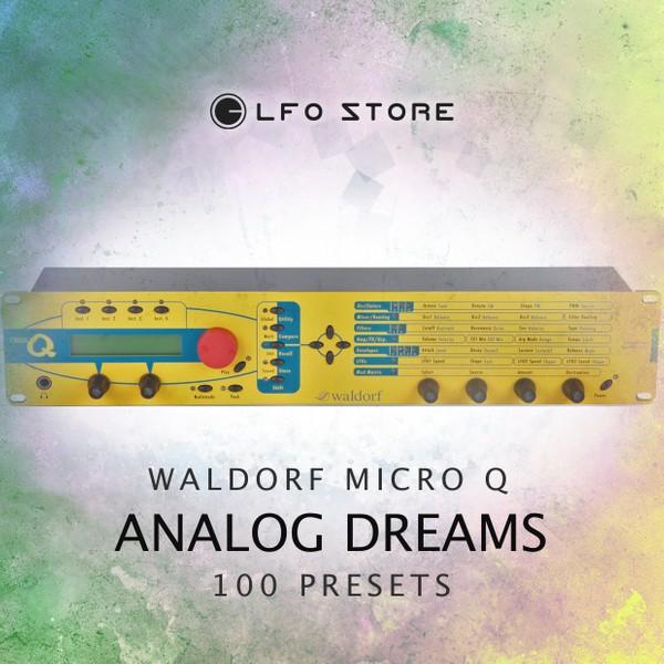 """Waldorf Micro Q - """"Analog Dreams"""""""