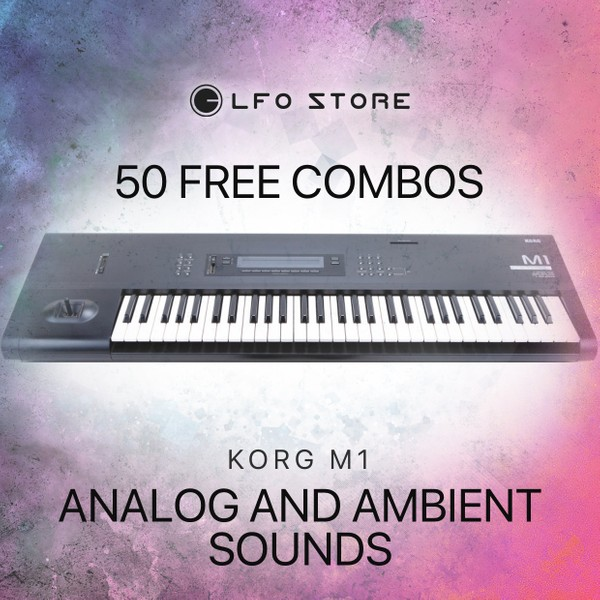 Korg M1 - 50 Free Combinations designed especially