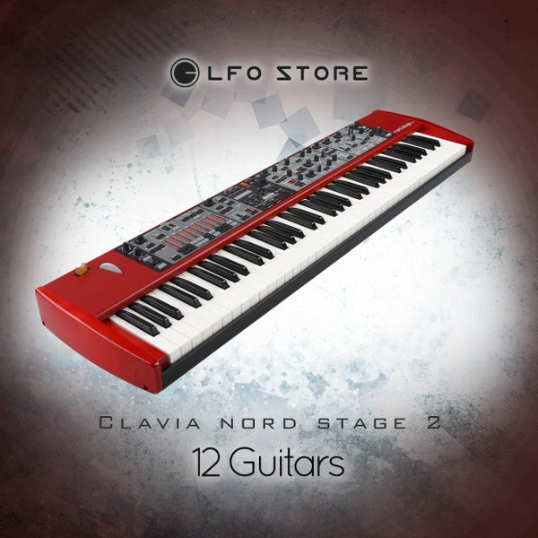 "Clavia Nord Stage 2 - ""12 Guitars"" Soundset"