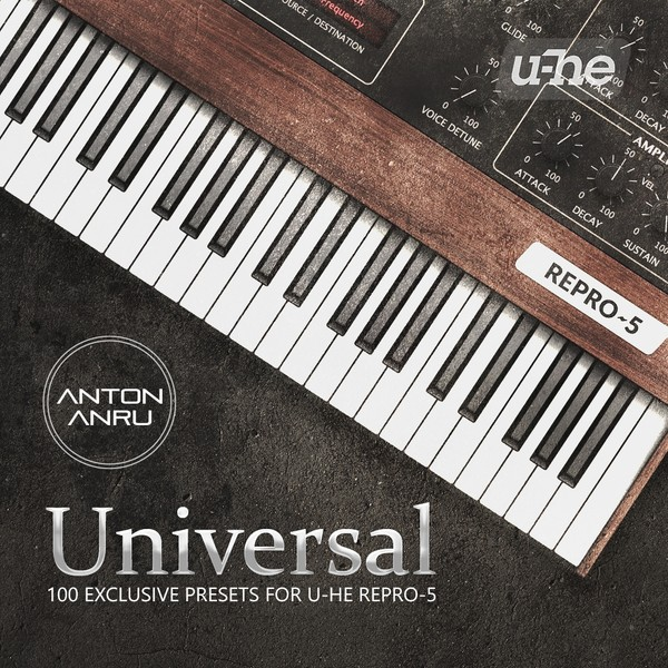 U-He Repro 5 Soundset - Universal Soundset by Anton Anru