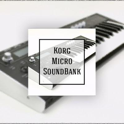 Korg MicroX SoundBank FREE!