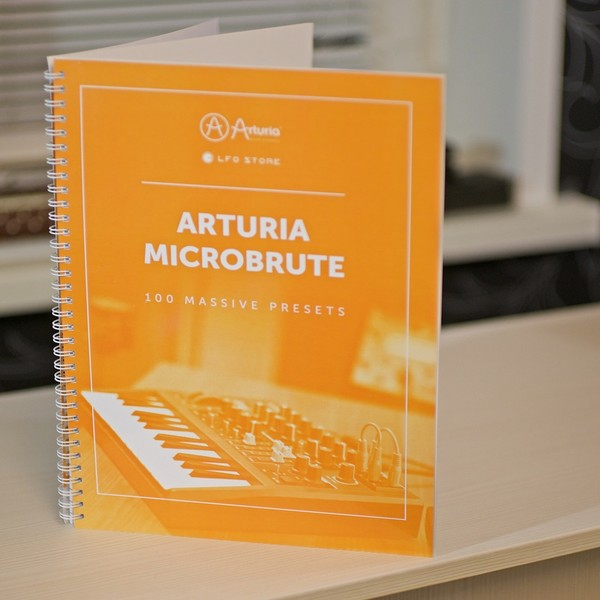 Arturia MicroBrute - Physical Booklet
