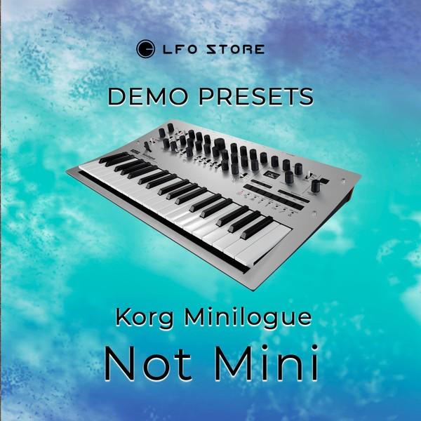 """Korg Minilogue – """"Not Mini"""" Soundset Demo"""