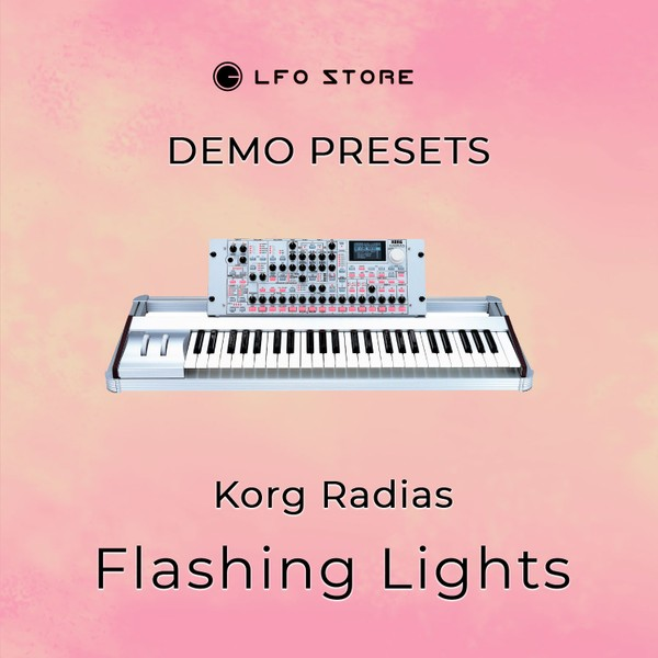 "Korg Radias – ""Flashing Lights"" Soundset  Demo"