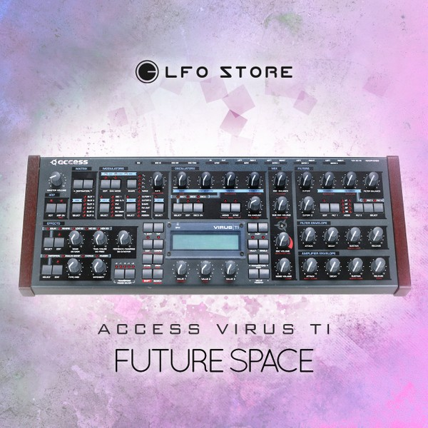 «Future Space» soundbank for Access Virus TI (100 presets by Ephilion)
