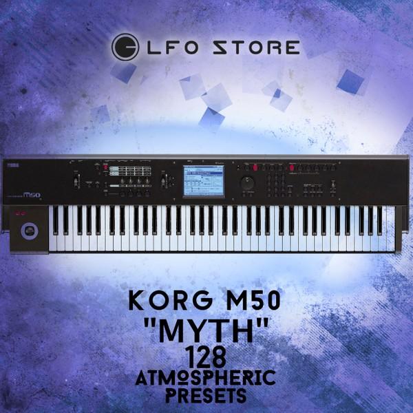 """Korg M50 """"Myth"""" soundset - 128 Atmospheric Presets"""