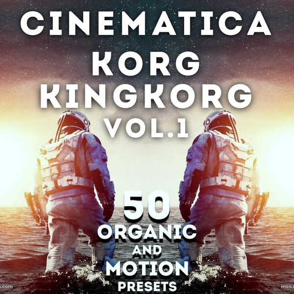 "Korg King Korg - ""Cinematica vol.1"" - 50 Organic Presets"