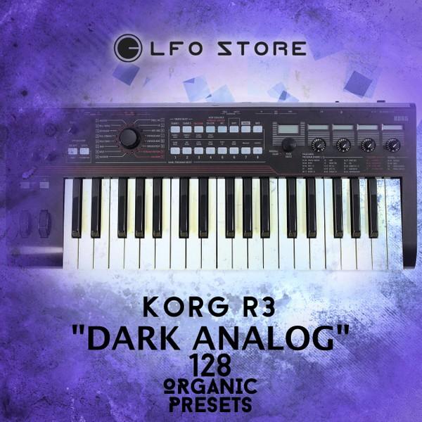 """Korg R3 """"Dark Analog"""" Soundset 128 Organic Presets"""