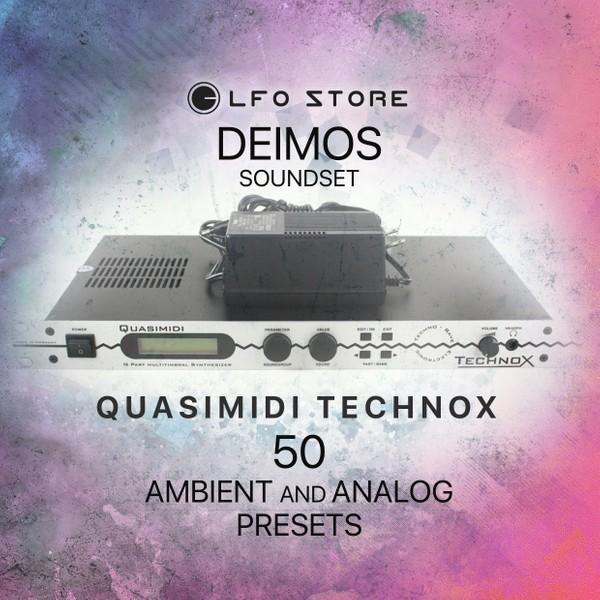 "Quasimidi TechnoX - ""Deimos"" Soundset 50 Atmospheric Performances"