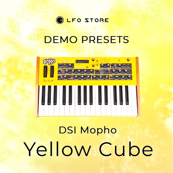 "DSI Mopho – ""Yellow Cube"" Soundset Demo"