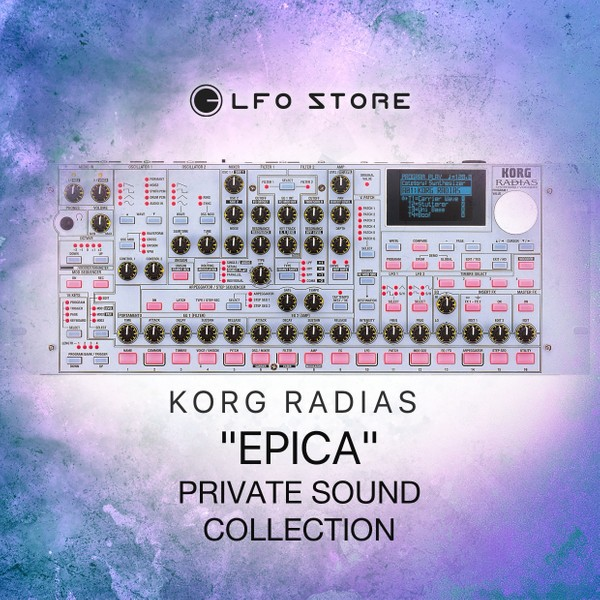 """Korg Radias """"Epica"""" - 32 Presets (Private Collection)"""