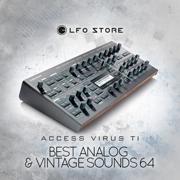 "Access Virus B/C/TI ""Best Analog&Vintage Sounds"" 64 Presets"