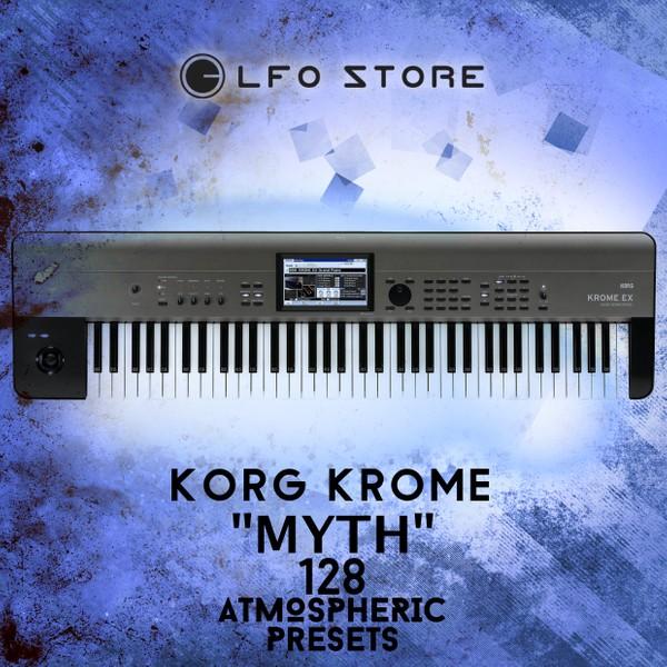 "Korg Krome ""Myth"" soundset - 128 Ambient & Soundtrack Presets"