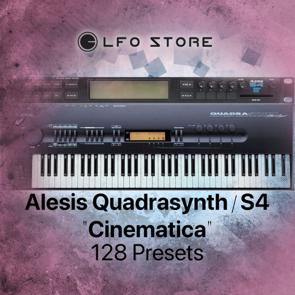 "Alesis Quadrasynth/S4 ""Cinematica"" Soundset 128 presets"