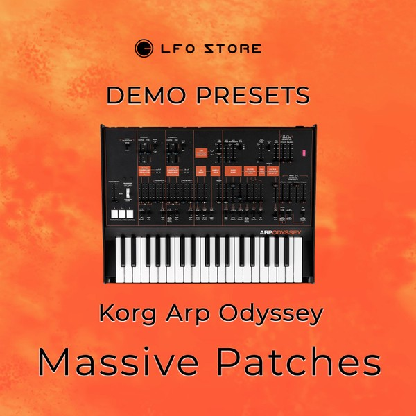 "Korg Arp Odyssey – ""Massive Patches"" Soundset Demo"