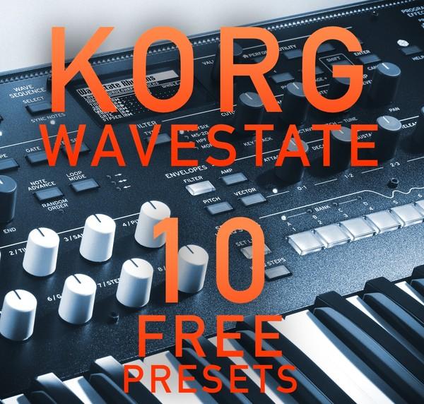 Korg Wavestate - 10 Free presets