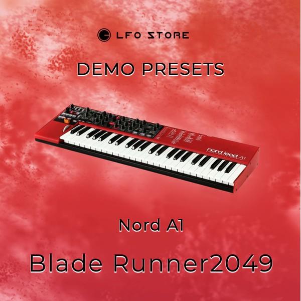 """Clavia Nord A1 – """"Blade Runner2049"""" Soundset Demo"""