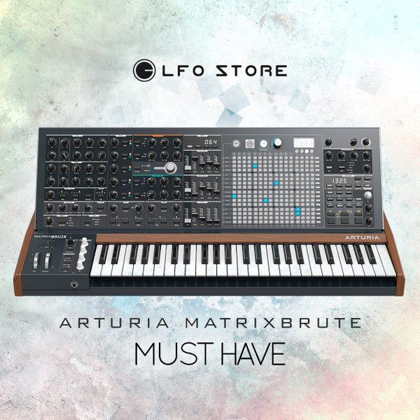 Arturia MatrixBrute - 64 'Must Have' Presets by Anton Anru