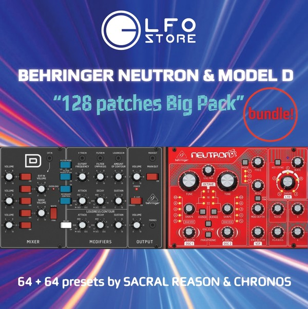 Behringer Neutron+ModelD 128 Patches Bundle!
